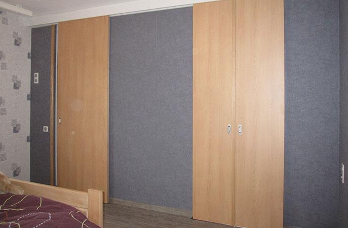 Fabrication Et Pose De Portes Spéciales Et Surmesure à Nancy Metz - Porte placard coulissante et porte menuiserie intérieure